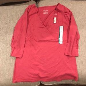 Merona mid length sleeve formal wear blouse